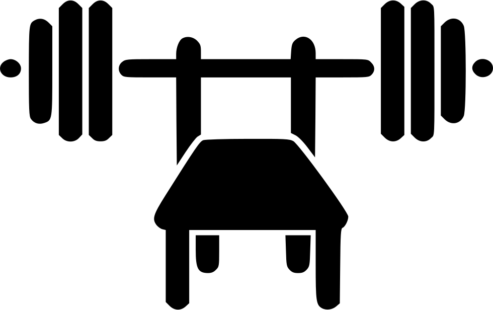 Bench press png. Svg icon free download