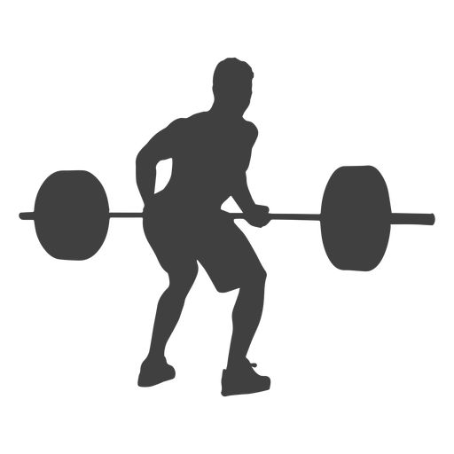 squat vector weightlifting