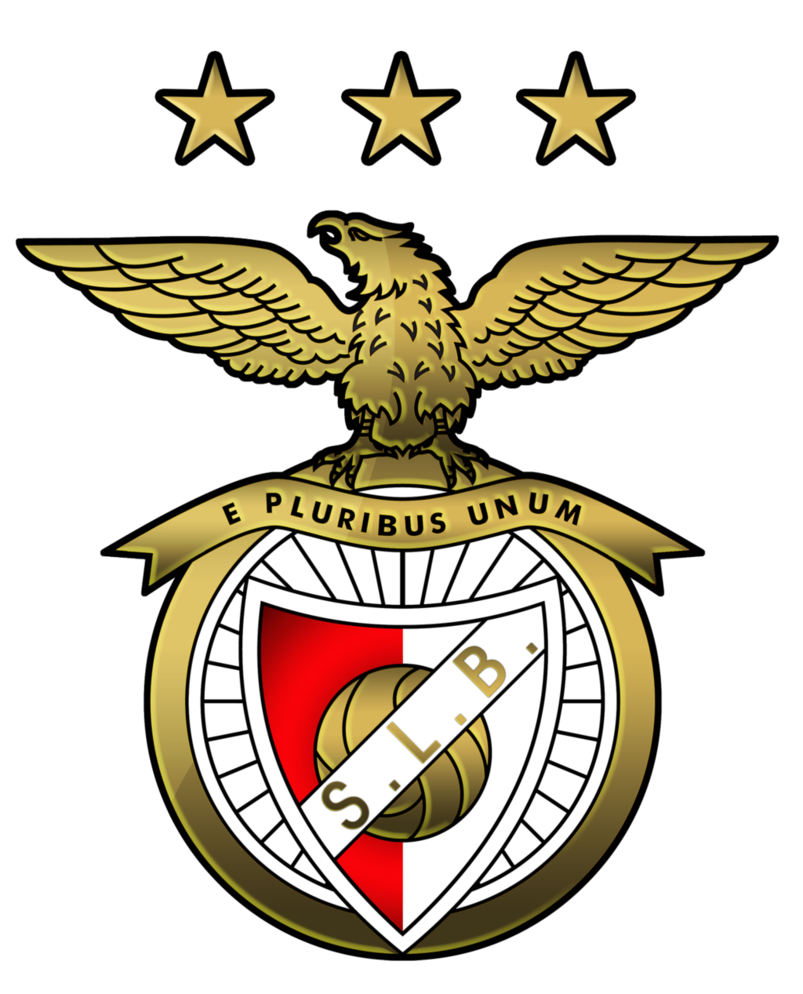 Benfica crest png. Golden sl by mrmau