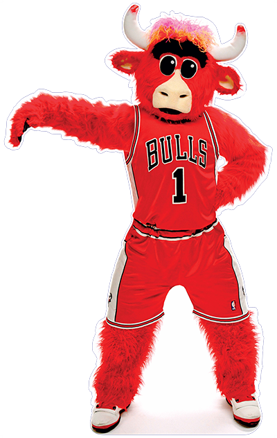transparent bull nba