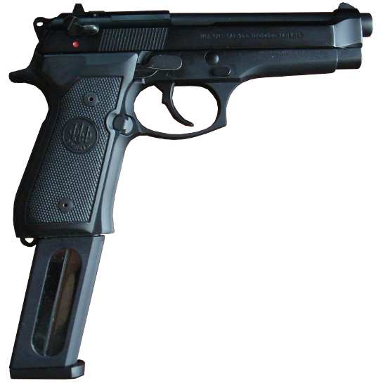 Long clip extended. Beretta model accessories and