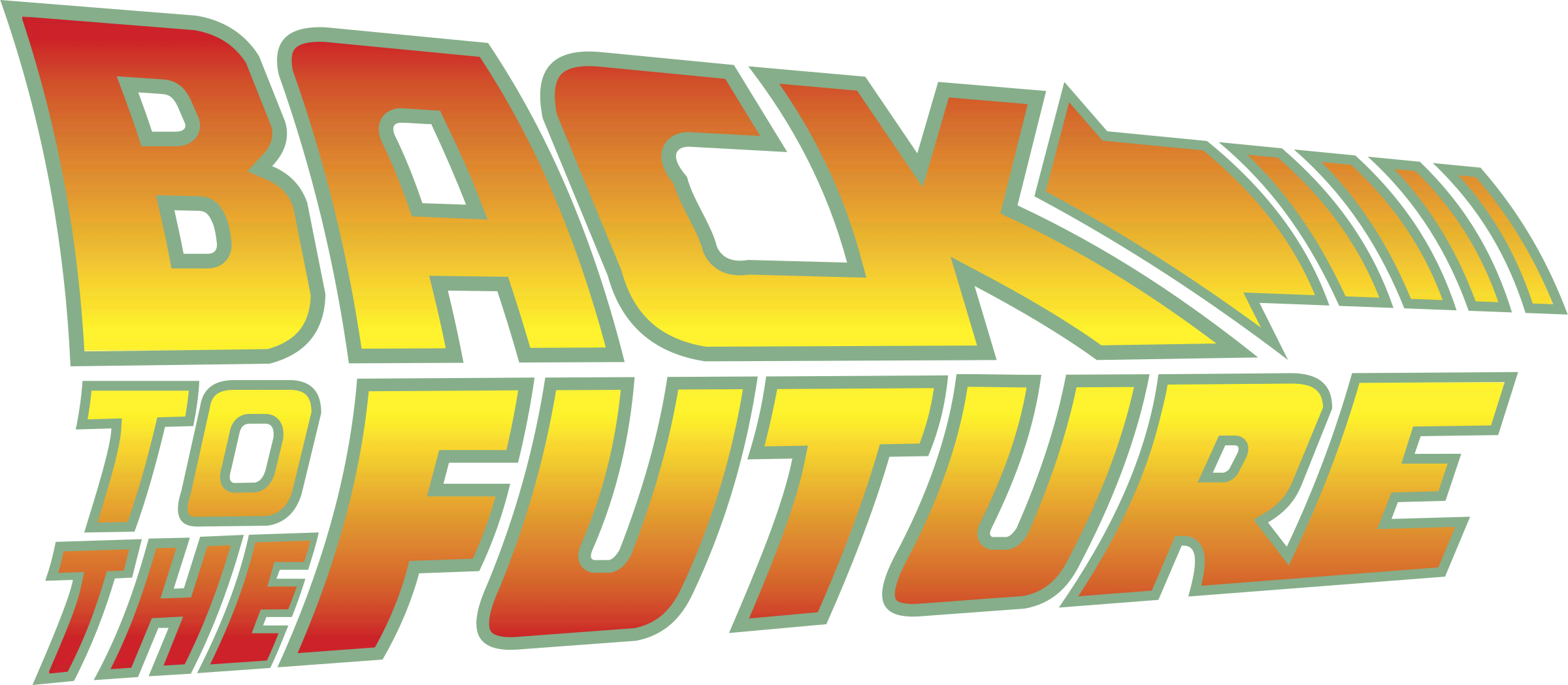 Future vector background. Back to the logo