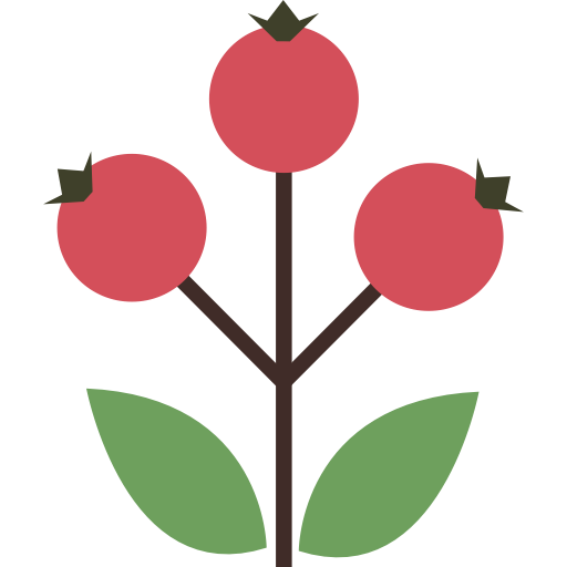 Berry clipart autumn berry. Canker rose dog icon