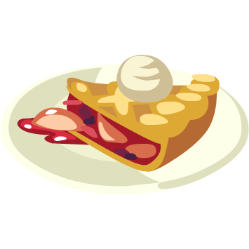 berry pie png
