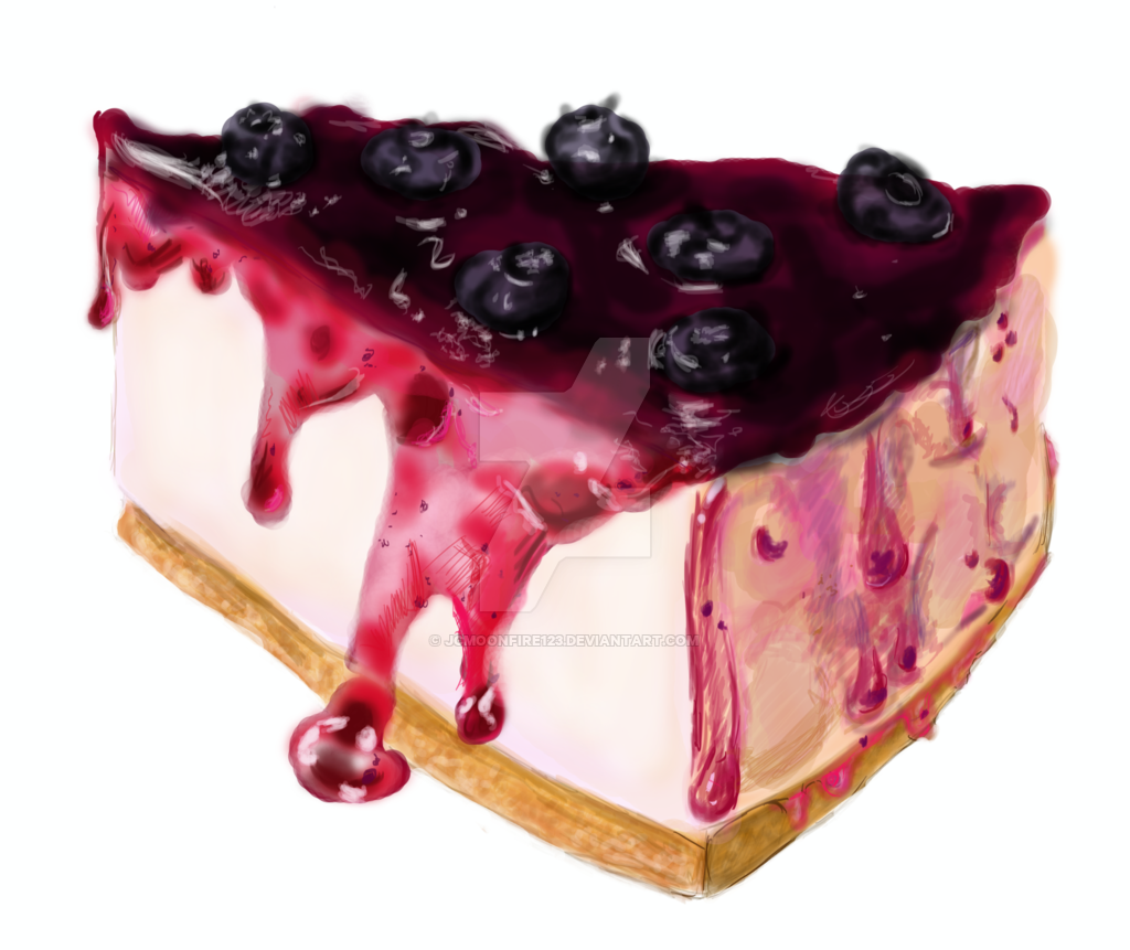 Cheesecake transparent berry. Blueberry cheese pie png