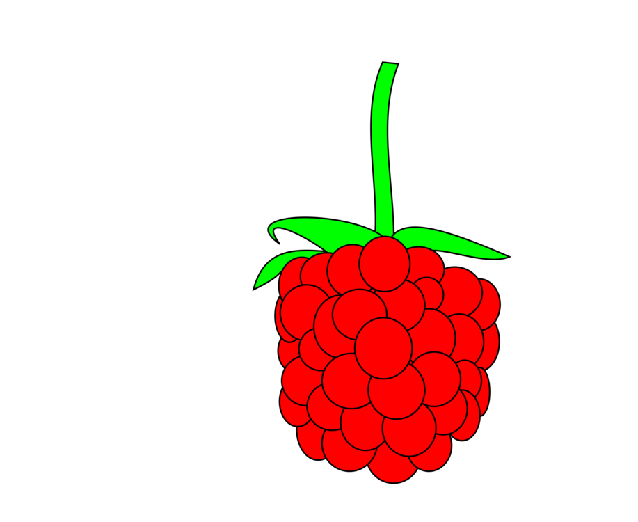 Berry vector raspberry. Red blackberry computer icons