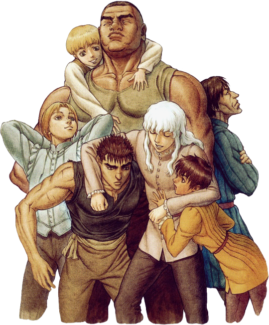 The of pinterest anime. Berserk drawing band hawk vector freeuse library