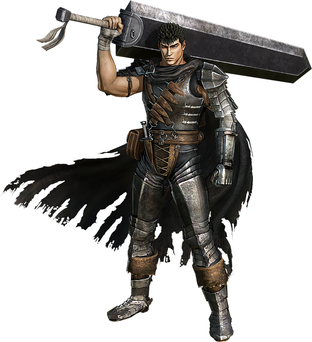 Guts render and the. Berserk drawing band hawk clipart library library