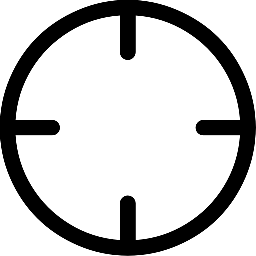 Best crosshairs png. Crosshair flat icon svg