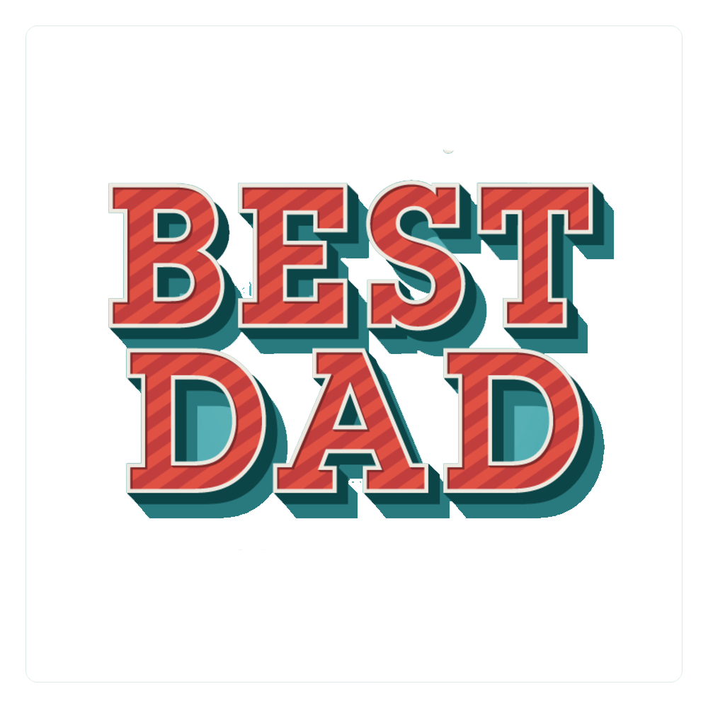 Best dad ever design png. Fathers day text peoplepng