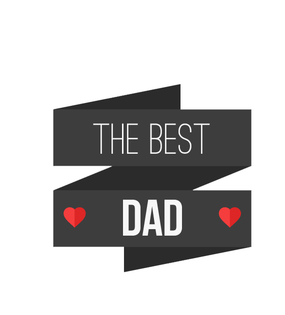 Best dad ever design png. Fathers day banners peoplepng