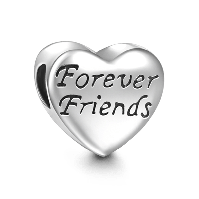 Best friend heart png. Pandora charms and beads