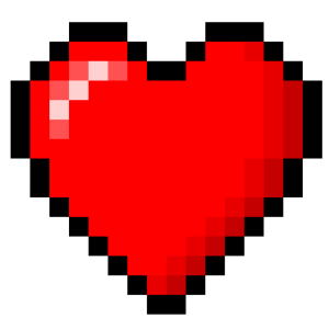 Best friend heart png. Quit hatin and find