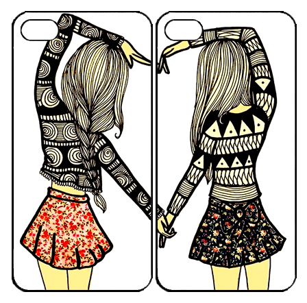 Sisters forever samsung galaxy. Drawing friendship best friends together clip art library download