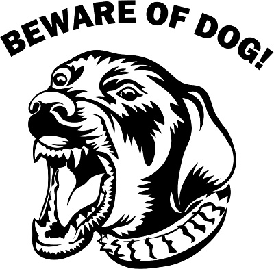 Beware of the dog. Free cliparts download clip