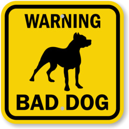 Beware of the dog. Clipart clip art