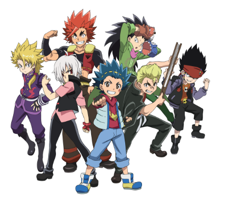 Beyblade burst png. The official website about