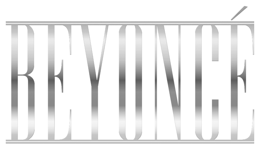 Beyonce logo png. Gradient by dontcallmeeve on