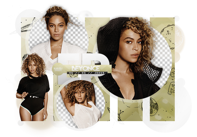 Beyonce png pack. By exoticpngs on deviantart