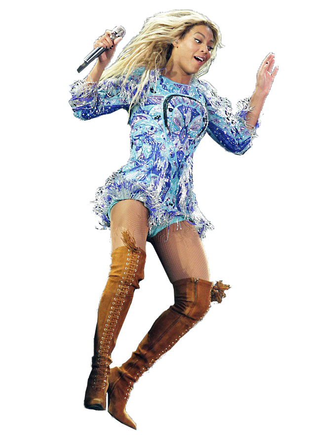 Beyonce png pack. Beyonc at a concert