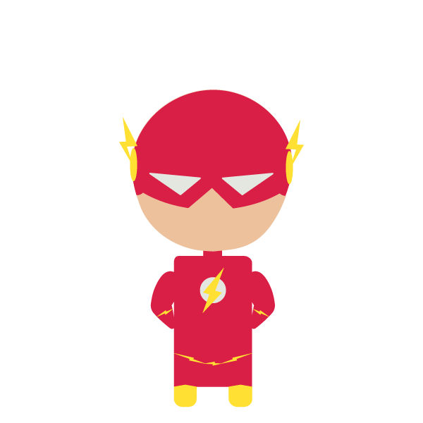 Beyonce vector chibi. The flash by d