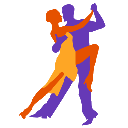 Beyonce vector dance. Dancer icons couple icon