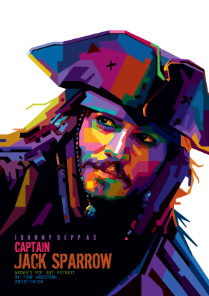Beyonce vector wpap. Jack sparrow all files