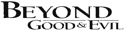 Beyond good and evil logo png. Image video game characters