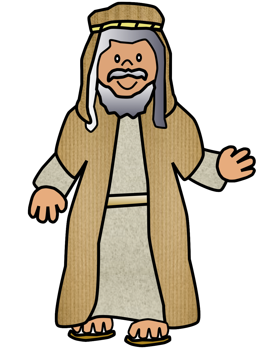 Bible clipart man. Clip art of characters