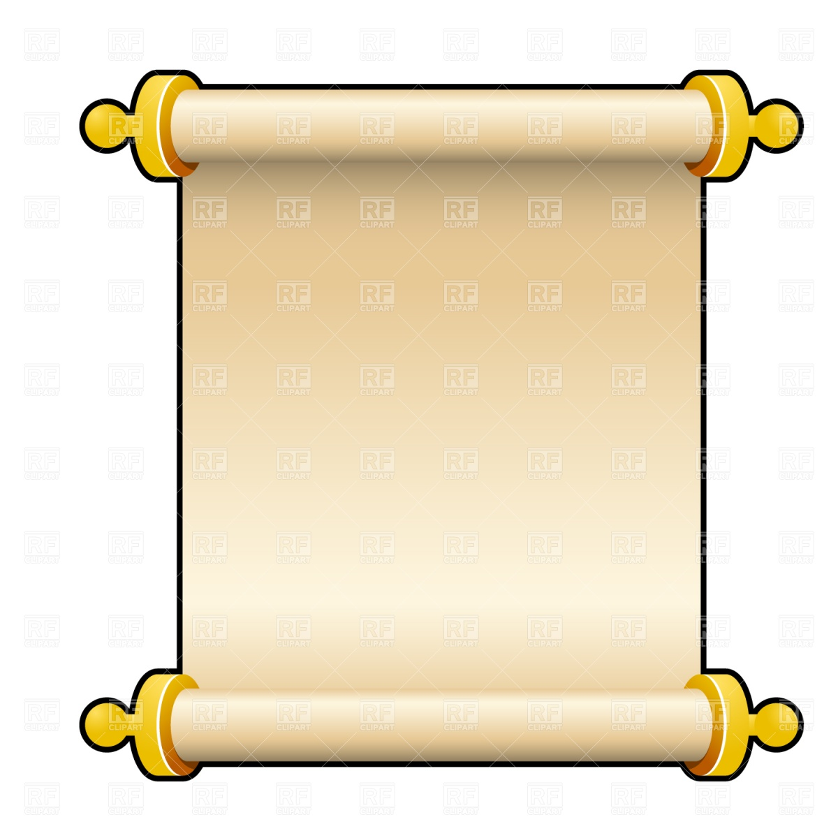Bible . Scroll clipart banner library
