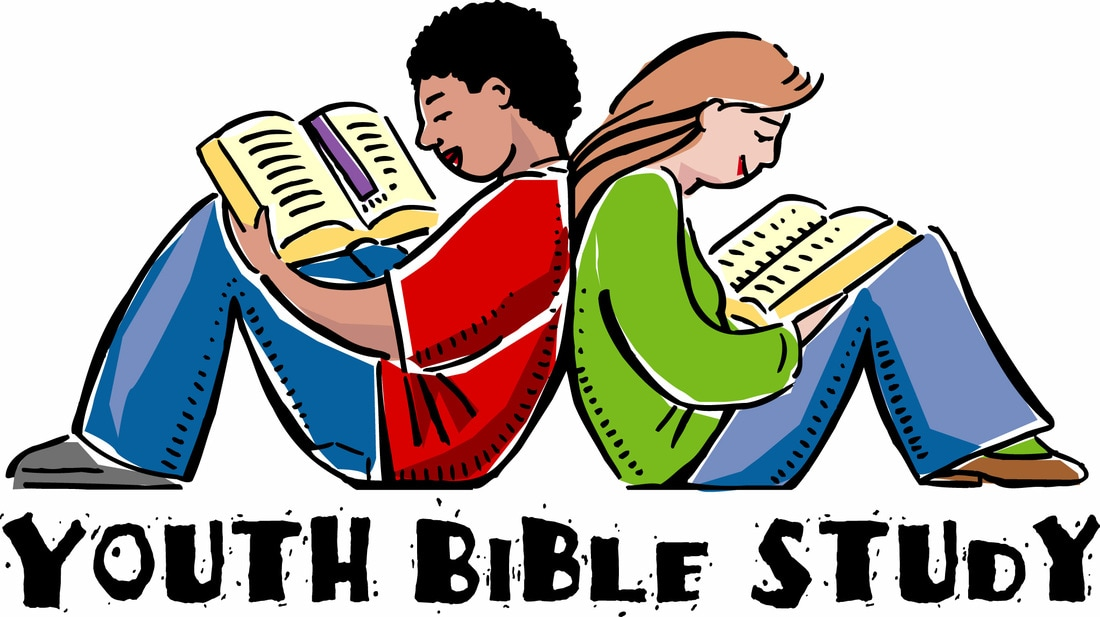 Studies christ our redeemer. Bible clipart youth bible study banner library download