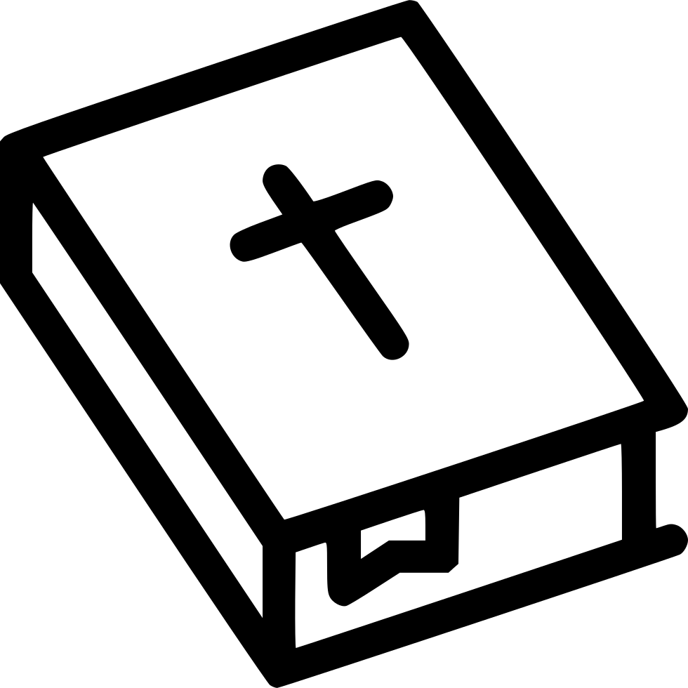 Bible svg black and white. Holy cross christianity png