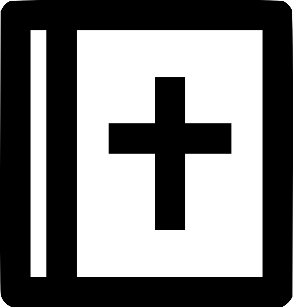 Png icon free download. Bible svg png