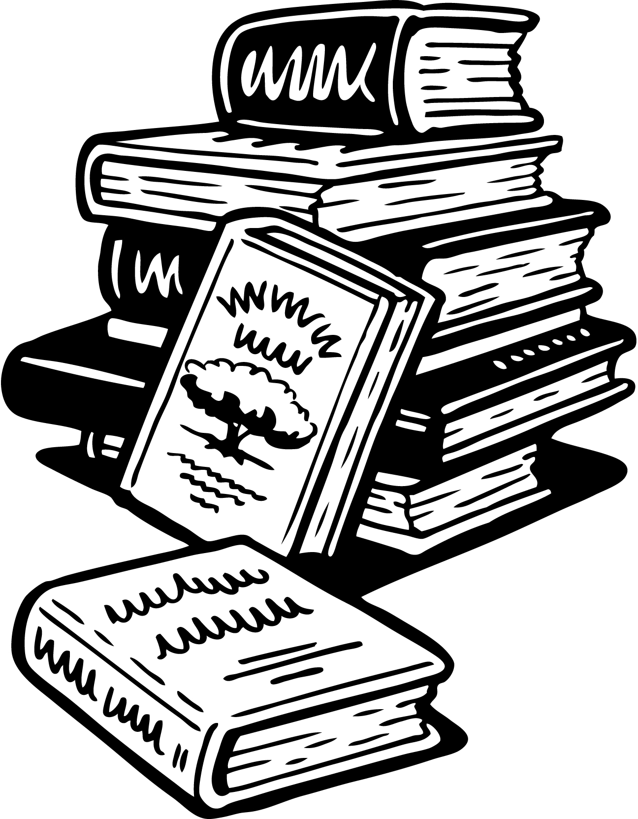 Bibliography clipart 3 book. An updated grim postmortem