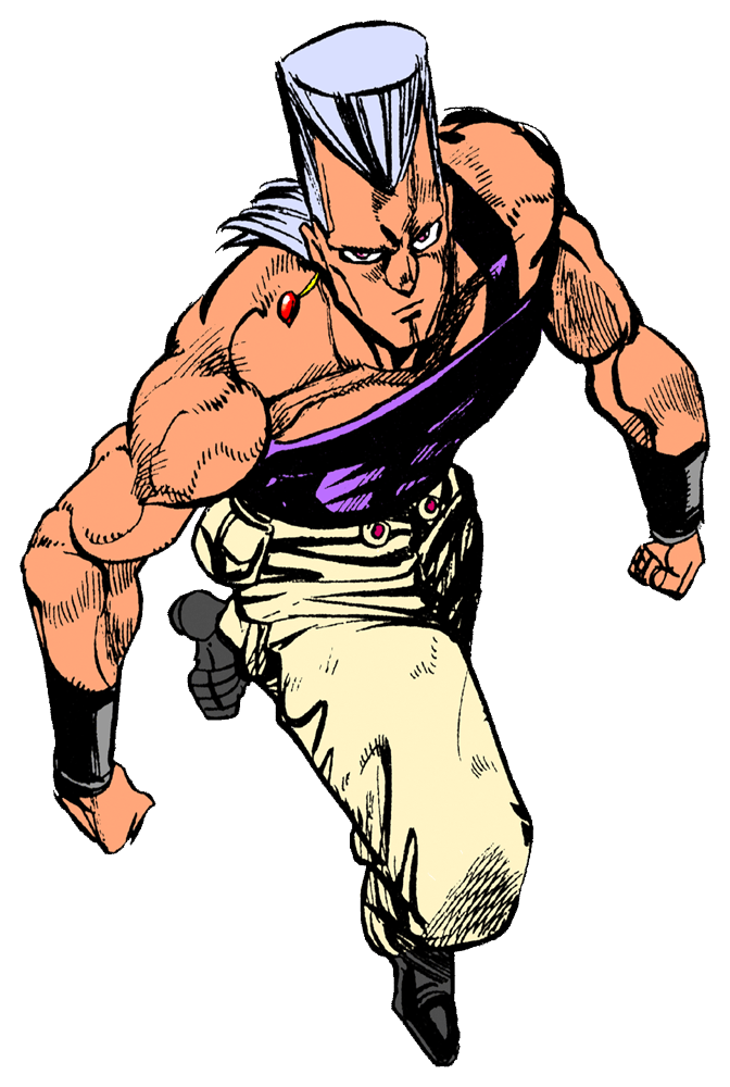 Biceps drawing double. Polnareff s give me
