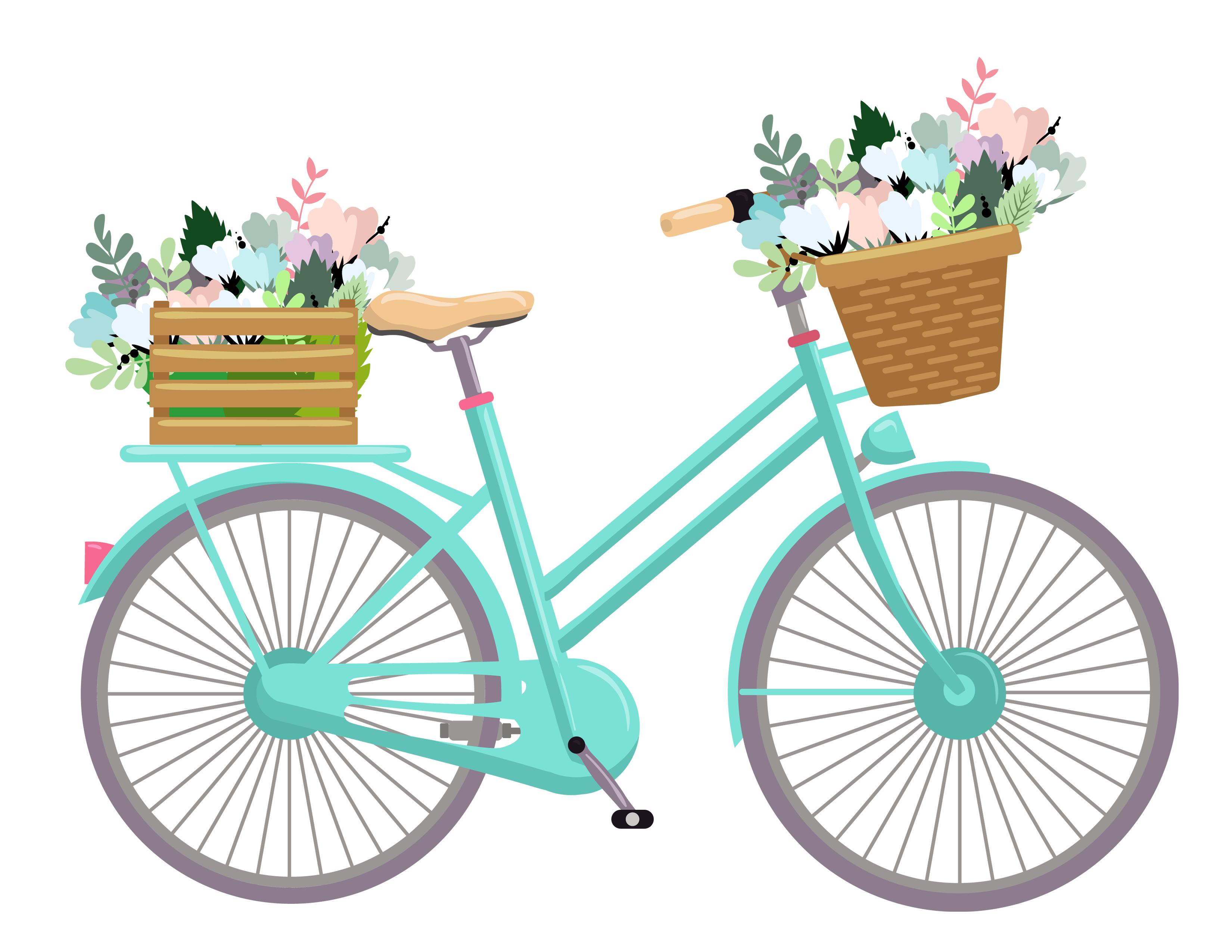 Www freeprettythingsforyou com wp. Cycle clipart antique bike vector library library