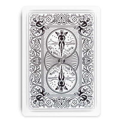 Playing cards design png. Bicycle ghost card deck