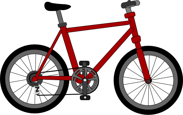 Bicycle cartoon png. Clip art at clker