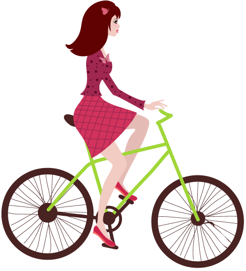 Bicycle cartoon png. Free cycle training for