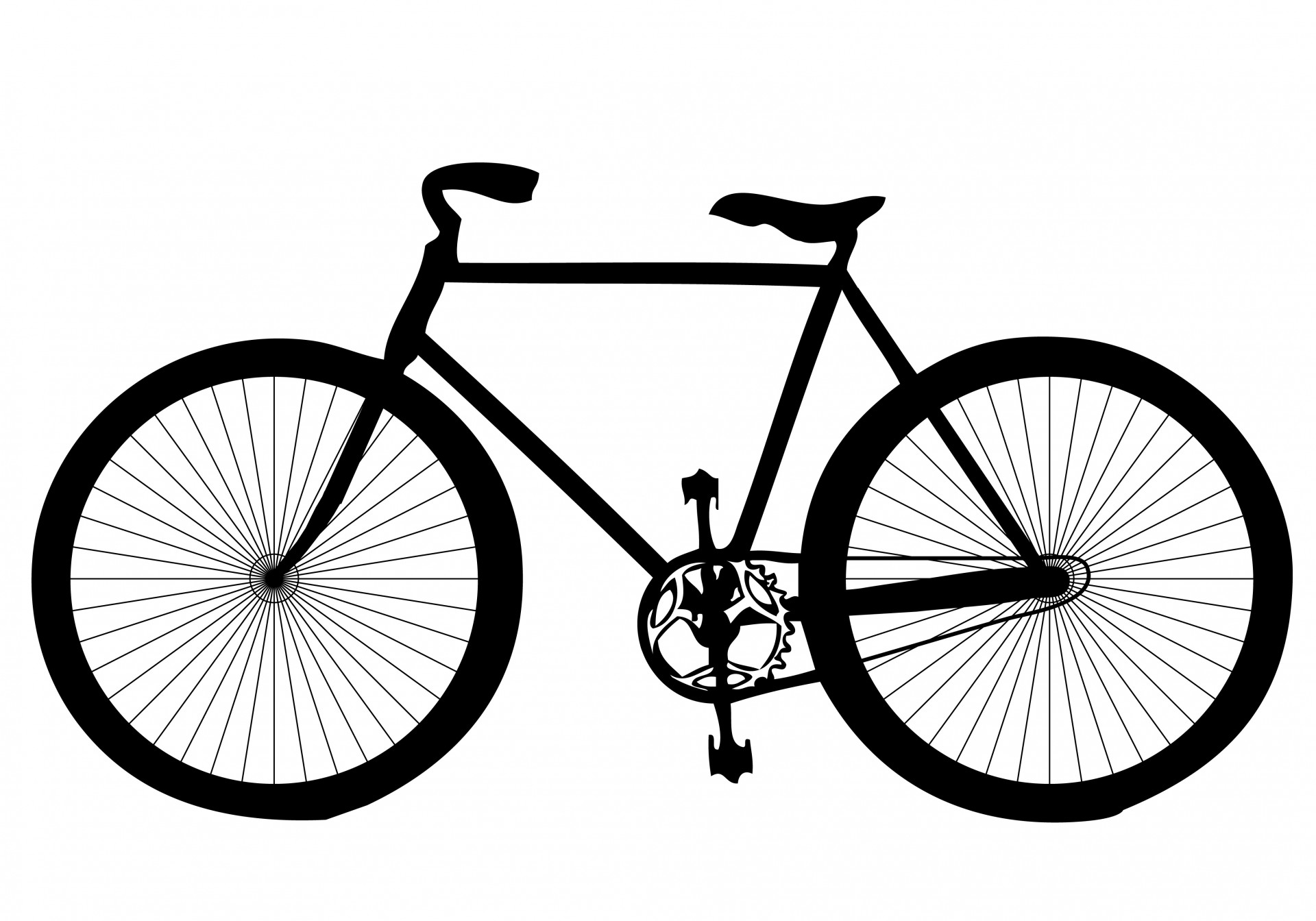 Cycling clipart. Bicycle free stock photo