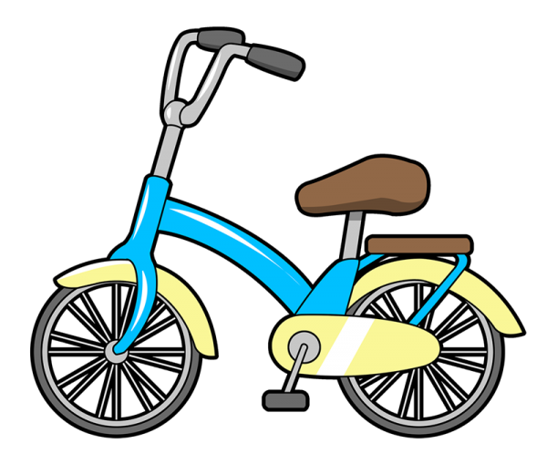 Transportation clipart bycicle. Bicycle at getdrawings com