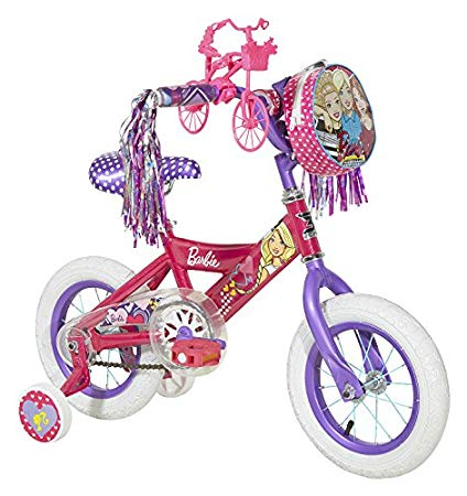Bicycle clipart bike scooter. Amazon com dynacraft barbie