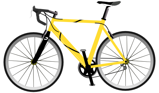 Bike clip mountain. Bicycle clipart free image