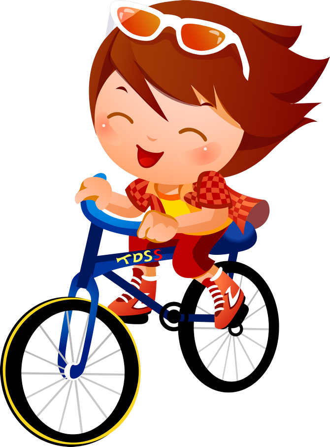 Children clipart cycling. Pin by marcia benson