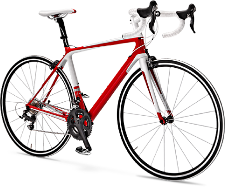 Bicycle png transparent. Red image free icons