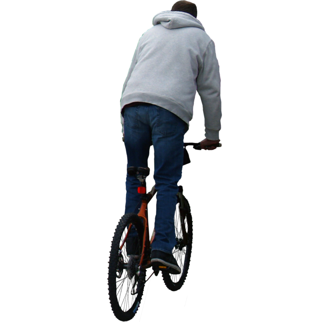 Bike rider png. Riding away photoshop library