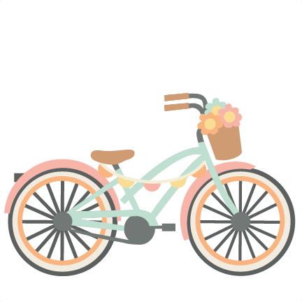 Bicycle svg. Cutting files for scrapbooking