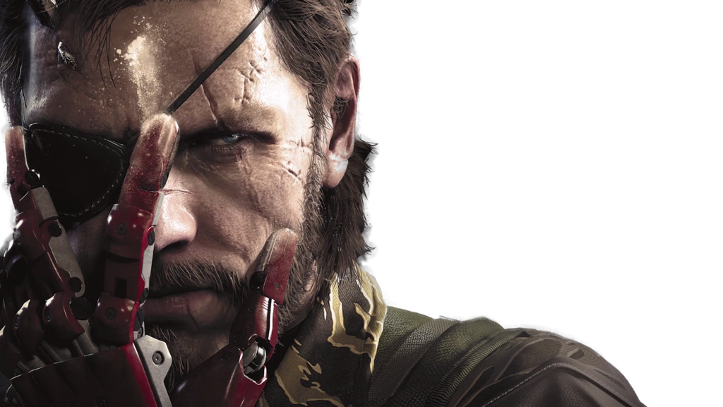 Big boss metal gear solid 5 png. V render by carmeil