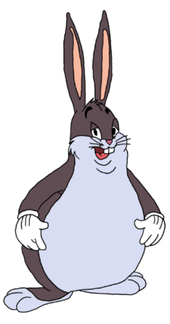 Big chungus clipart blue. Cheesapedia wiki fandom powered