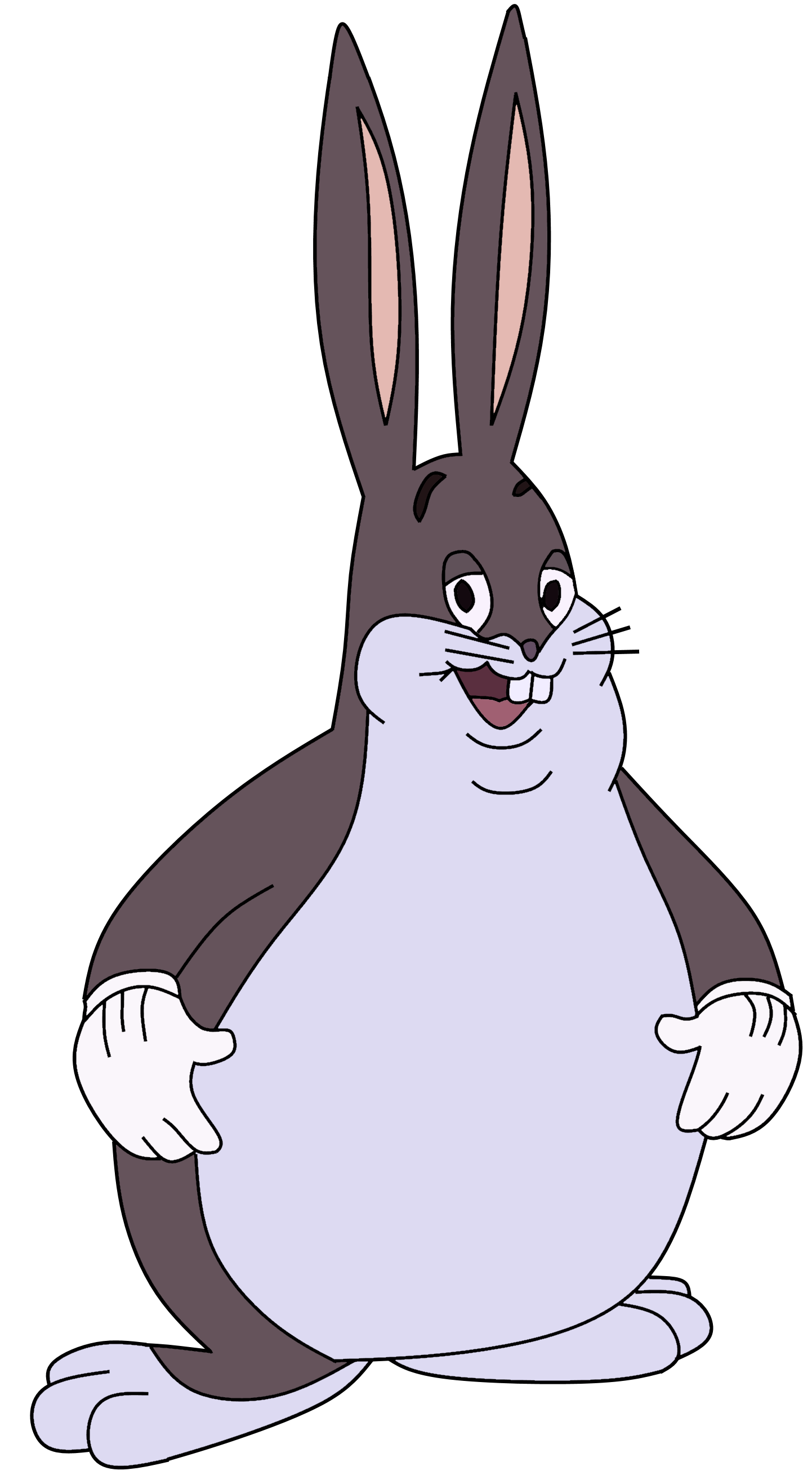 big chungus clipart normal